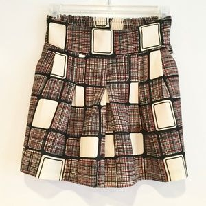 Dresses & Skirts - Pleated Vintage 70's Printed Skirt